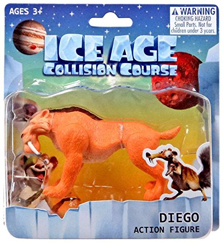 Ice Age Collision Course Diego Action Figure