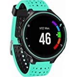 GVFM Band Compatible with Garmin Forerunner 735XT, Soft Silicone Replacement Watch Band Strap Wristband for 220/230/235…