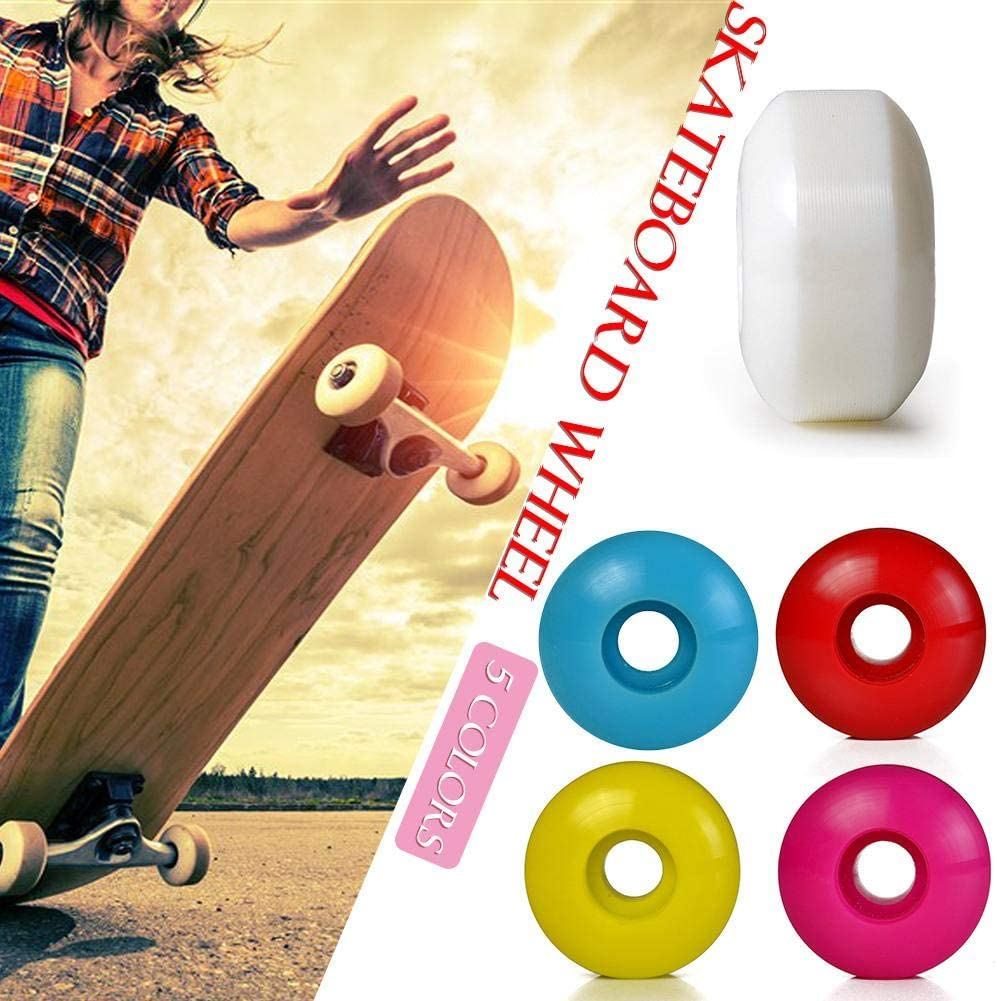 Poetryer Skateboard Wheels Effectively Help The Skateboard To Reduce Shock Noise Non Slip Tapes Two Sides Of The Wheel Bow Design