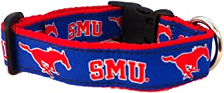 product image for NCAA Southern Methodist Mustangs Dog Collar, Team, Small