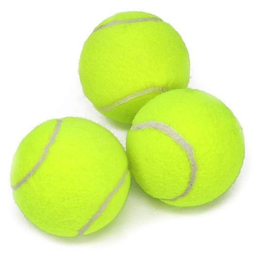 com-four® 3X Pelota de Tenis para Deportes al Aire Libre y ...