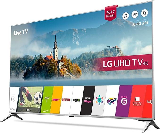 Lg - TV led 65 65uj651v, uhd 4k, Smart TV: 890.56: Amazon.es: Electrónica