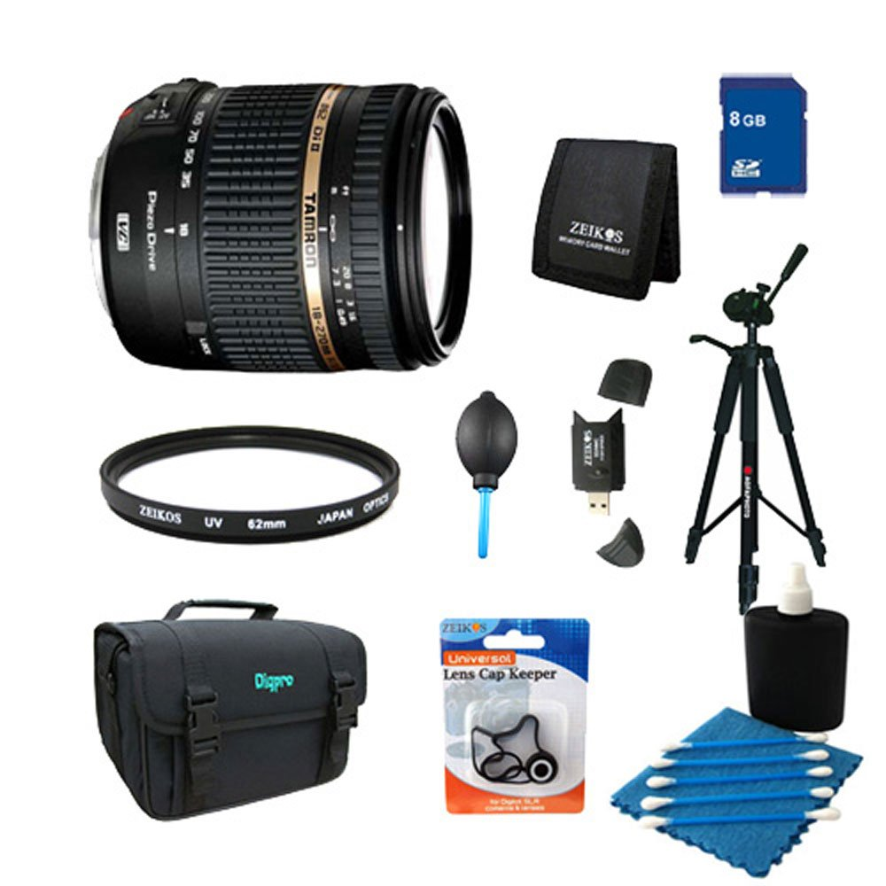 Tamron 18-270mm f/3.5-6.3 Di II PZD Aspherical Sony DSLR includes Bonus Xit 60'' Full Size Photo / Video Tripod and More