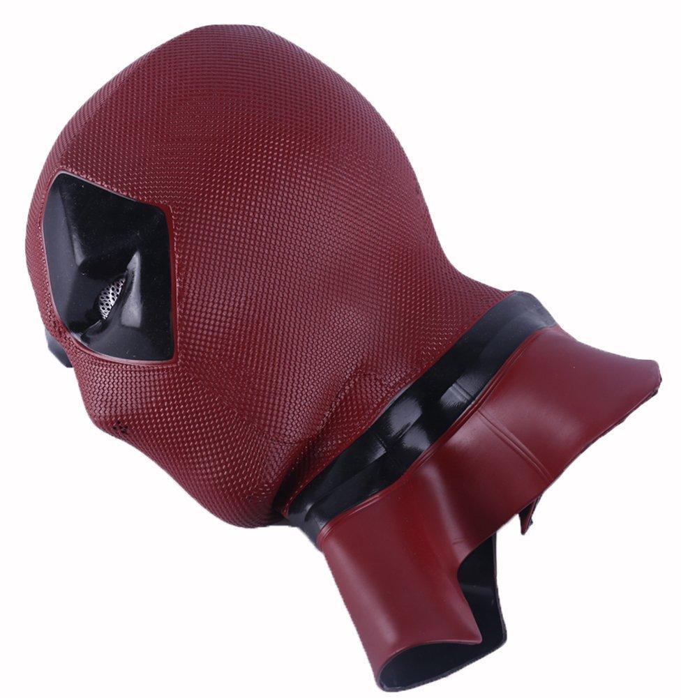 YK película Deadpool pelucas muertas máscara cosplay casco de Halloween COS muerto cosplay máscara apoyos máscara de la cabeza (deadpool): Amazon.es: ...