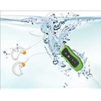 E-Plaza NEW IPX8 Waterproof 4GB MP3 Digital Music Player With Earphone (Green)