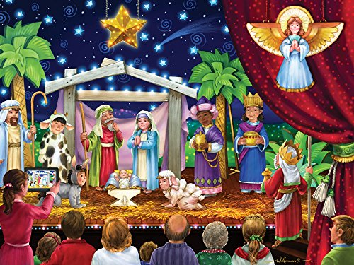 Vermont Christmas Company The Greatest Story Jigsaw Puzzle 550 Piece