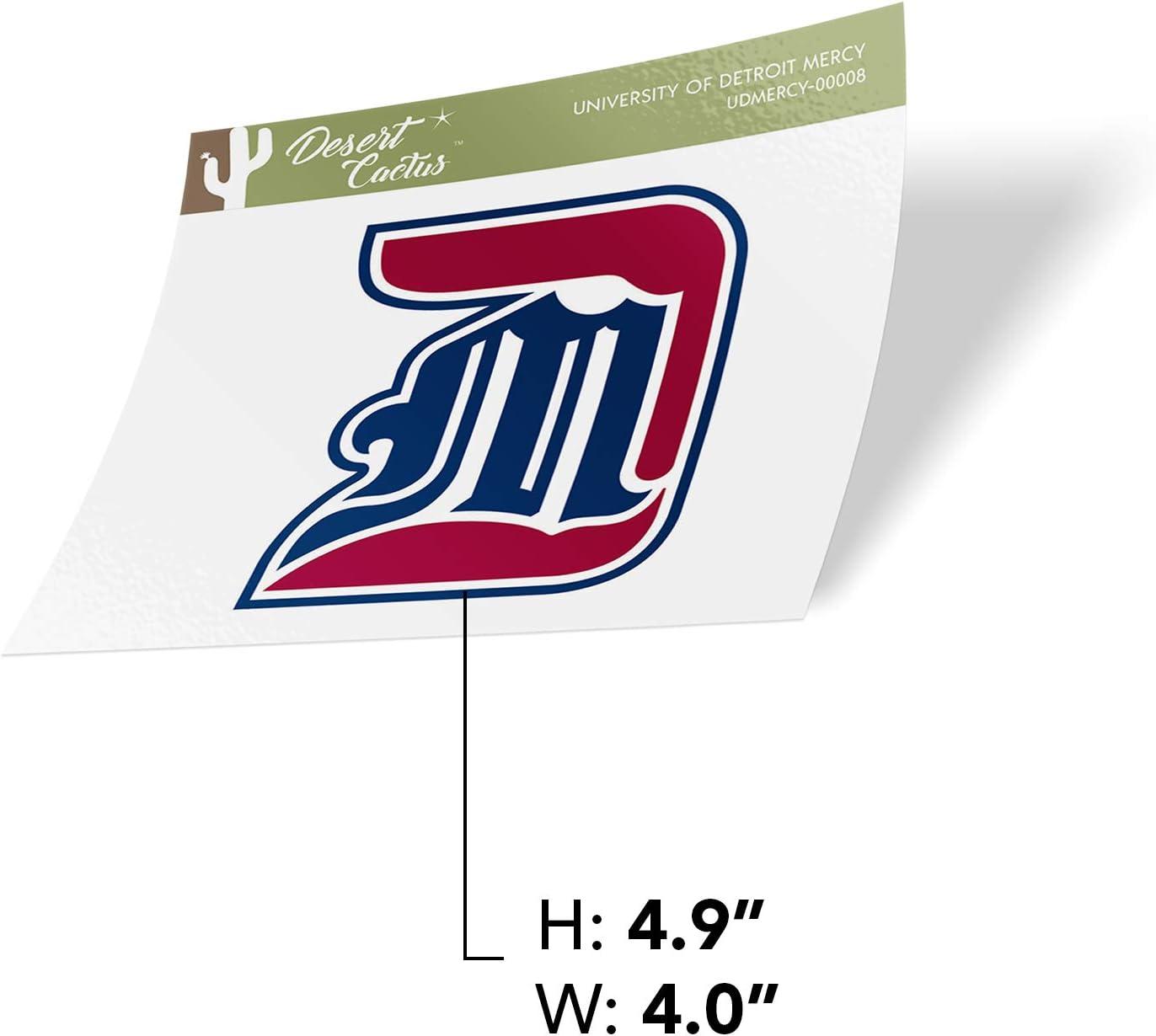 University of Detroit Mercy UDM Titans NCAA Vinyl Decal Laptop Water Bottle Car Scrapbook Sticker - 00008