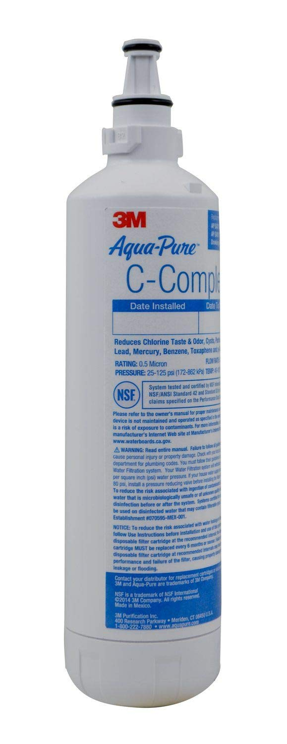 3M Aqua-Pure Under Sink Replacement Water Filter - Model AP EASY COMPLETE