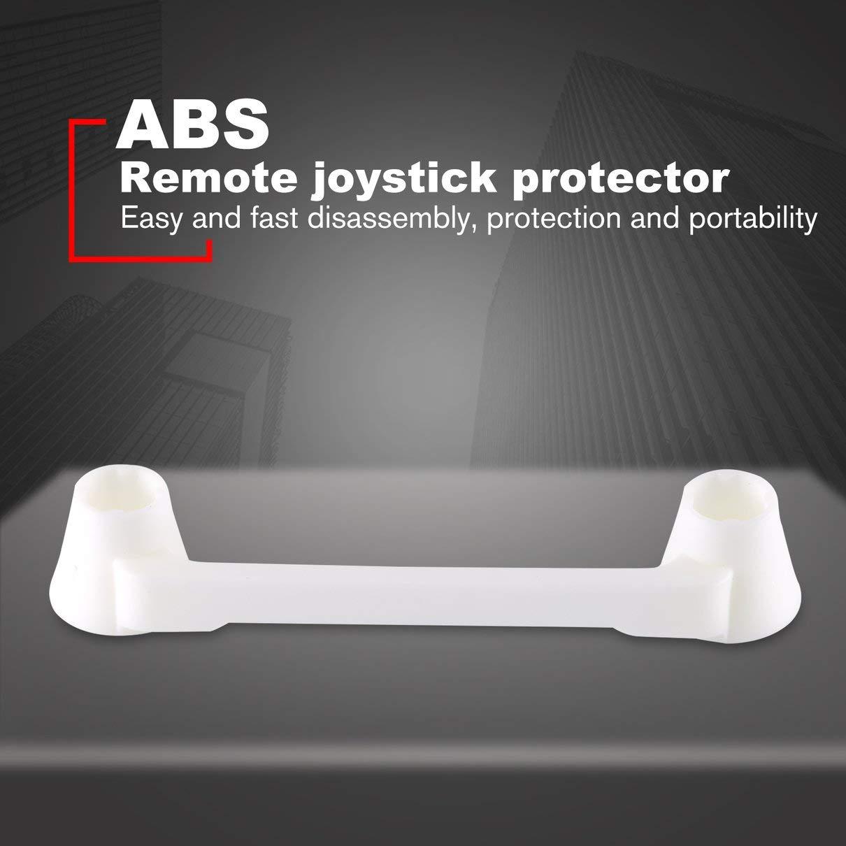 Blanco Togames Control Remoto Rocker Arm Bar Soporte de protecci/ón ABS Soporte Fijo para Hubsan Zino H117S RC Drone Accesorios Joysticks Protector