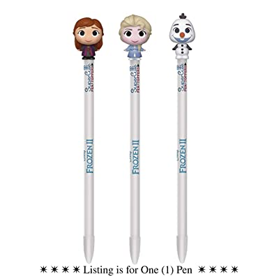 Funko Pop SuperCute Pen Toppers: Disney Frozen 2 Pen (Assorted Characters): Sports & Outdoors