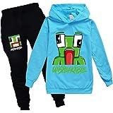 362 Boy and Girls Pullover Sweatshirt Suit, Teen Hooded Sweatshirt Suit