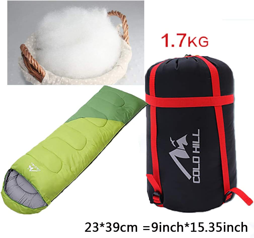 Newdoar Urltra-Light G/änsedaunenschlafsack Fr/ühling Herbst Urltra-kompakter Schlafsack Mumienschlafsack