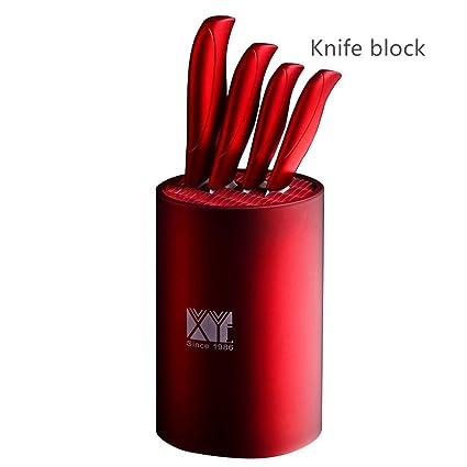 Compra Yhomeii Soporte para cuchillos redondo universal (sin ...