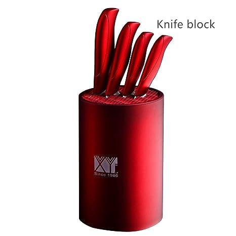 Amazon.com: Ronda soporte de cilindro Knife Block/cuchillo ...