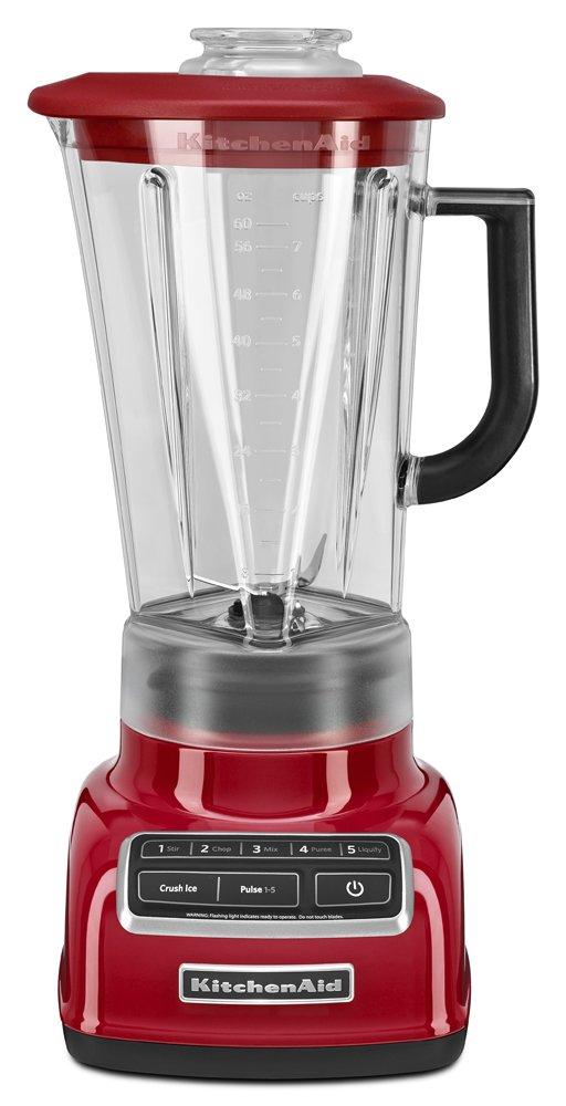 KitchenAid KSB1575ER 5-Speed Diamond Blender with 60-Ounce BPA-Free Pitcher - Empire Red