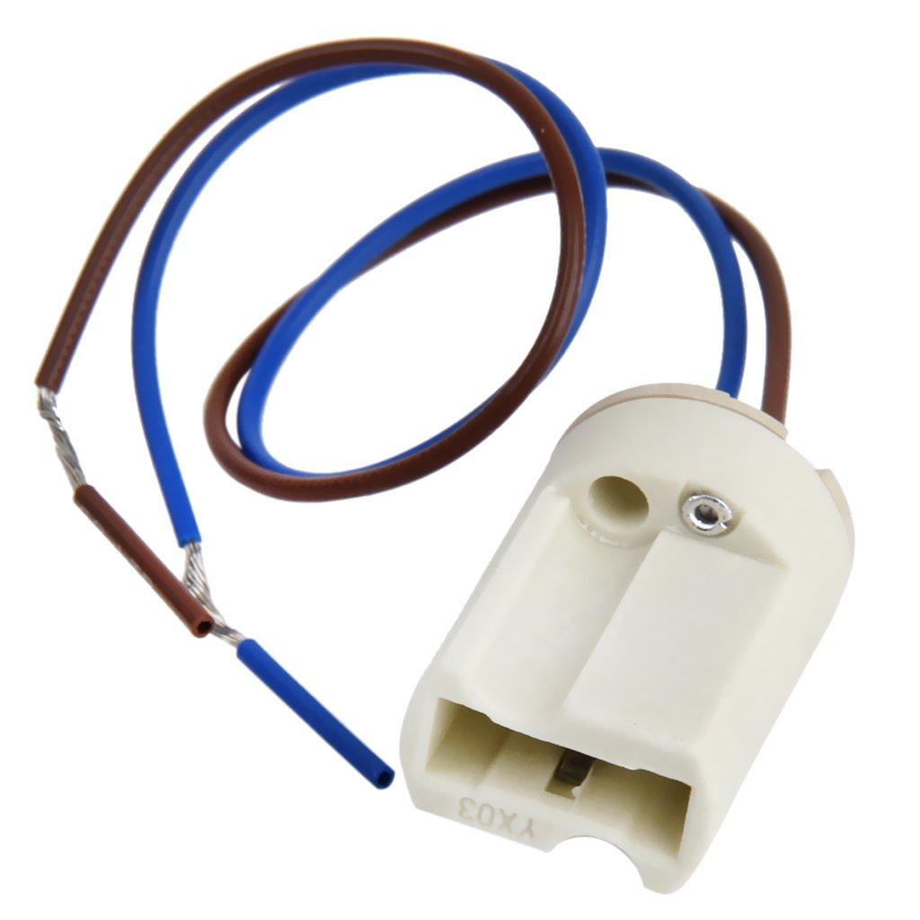 G9 Lamp Socket Ceramic Light Holder 2a 250v Sports Wiring Diagram Outdoors