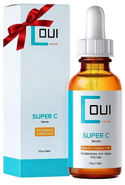 suero Super C – tratamiento AL Colágeno blusa para cara y ojos – vitamina C +