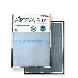 AIRTEVA Custom Sized Air Conditioner Filter with BioSponge Plus Insert(s)