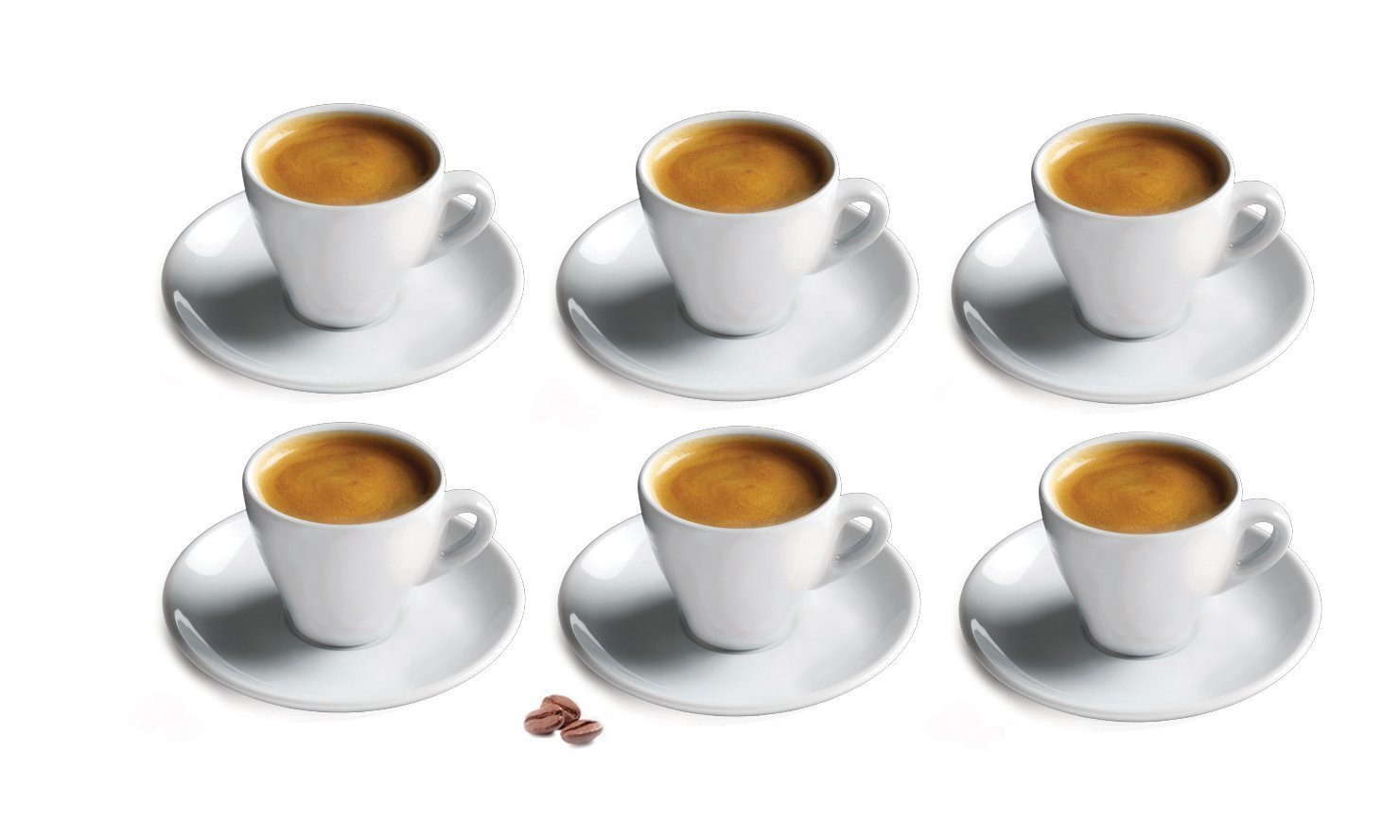 Cuisinox Espresso Cup, Set of 6, White Cuisinox (Import) CUP-66