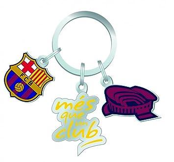 Trade Con FC Barcelona llavero Mes que un club: Amazon.es ...