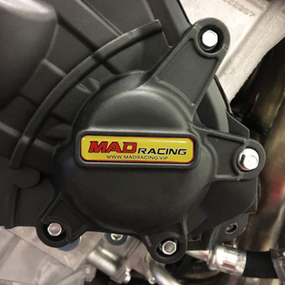 MADRACING Fit for GSXR1000 GSXR1000R L7 2017 Motorbike Engine Cover Set Protection Guard//Slider