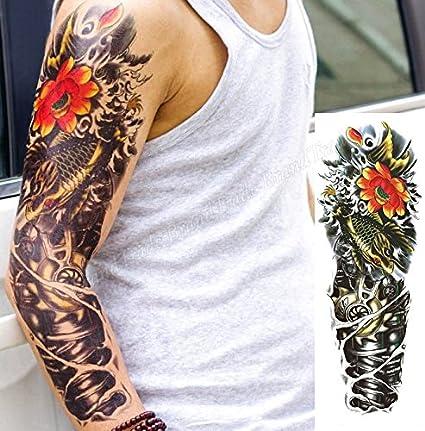 Adhesivo de tatuaje temporal para robot arte corporal Pegatina ...