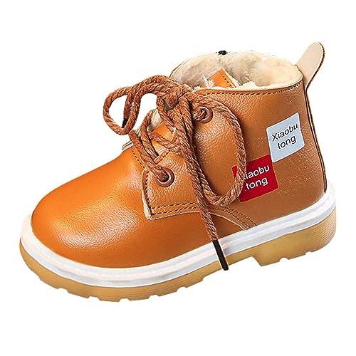 Botines para Niños 2018 K-youth Botas Bebe Niño Niña Sneaker Zapatos con Forro Caliente
