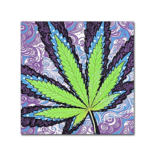 Berry Jane Wall Art by Potman, - cannabis wall art decorations - cannabis canvas art