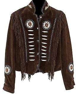 Amazon.com: Classyak Western de la mujer estilo vaquera ante ...
