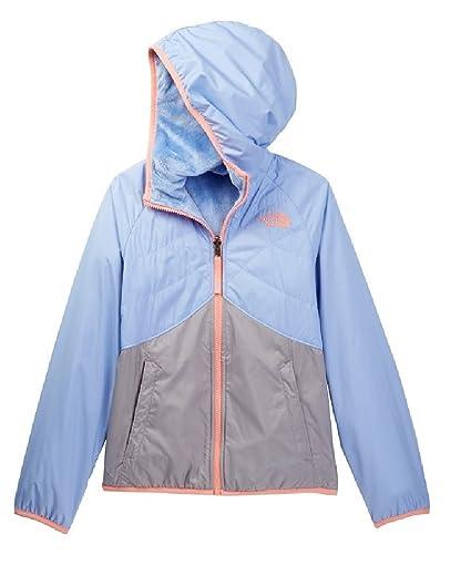 72da0304b Amazon.com: The North Face Big Girls' Reversible Breezeway Wind Jacket  (Sizes S - XL) (XL (18 Big Kids), Collar Blue): Sports & Outdoors