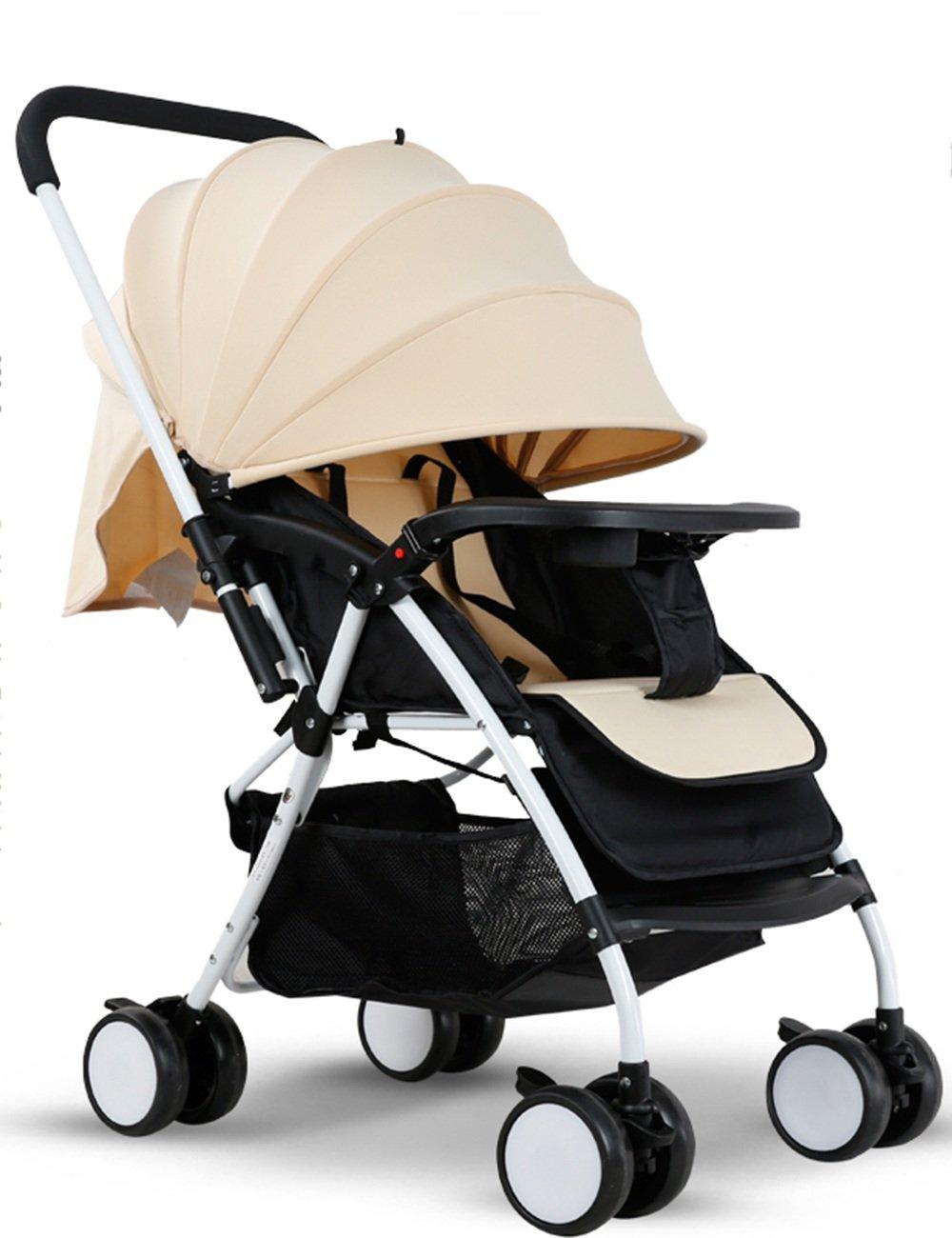 LVZAIXI 新しい赤ちゃんの子供のPRAM CARRY RAIN COVER Fits ( 色 : ベージュ ) B07C787BKR ベージュ ベージュ