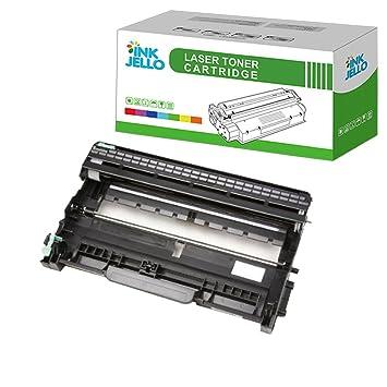 InkJello Compatible Tambor Unidad Reemplazo por Brother DCP-L2500D DCP-L2520DW DCP-L2540DN HL-L2300D HL-L2340DW HL-L2360DN HL-L2365DW MFC-L2700DW ...
