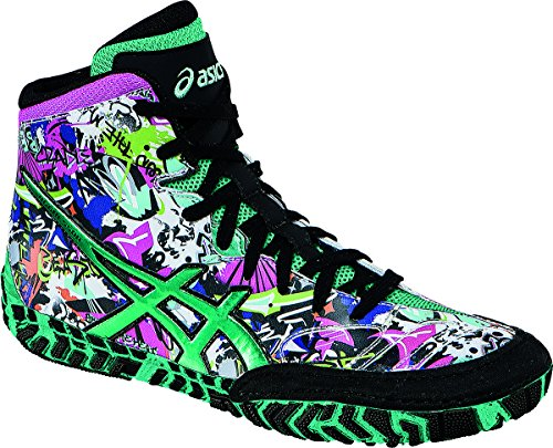 Asics Aggressor 2 LE GRAFFITI Wrestling Shoes - 12.5