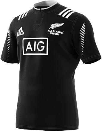 adidas All Blacks 7S - Camiseta para Hombre, Color Azul/Gris/Negro ...