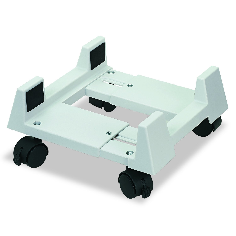 Econo Mobile CPU Stand, Light Gray, IVR54001