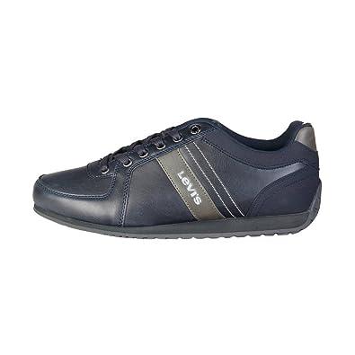 Levis Hombre 223936_1938 Azul Zapatillas 10.5 UK: Amazon.es: Zapatos y complementos