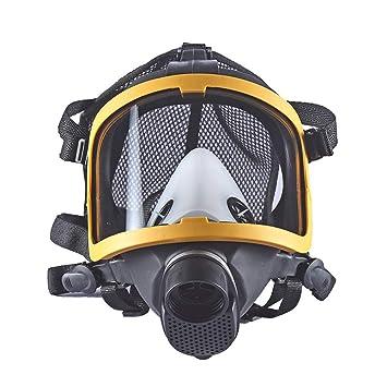 LAIABOR Máscara de Gas Gafas Respirador Protección para pesticidas, formaldehído, Pintura, Aerosol Antipolvo Productos Quimicos Trabajo Mascarilla Facial ...