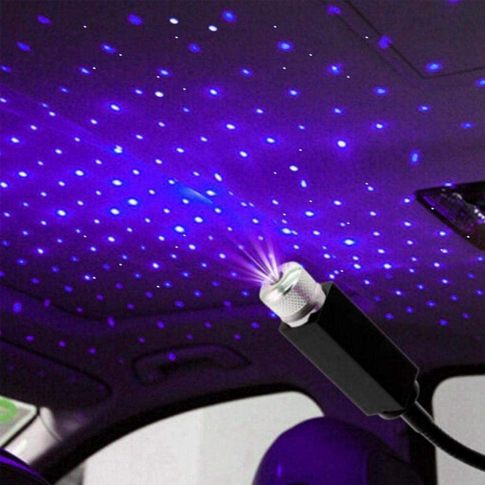 Party Ceiling Bedroom Womdee Auto Roof Star Projector Lights Adjustable Romantic Galaxy Flexible Interior Car Lights Plug and Play Ceiling Decoration Light Interior Ambient Atmosphere for Car
