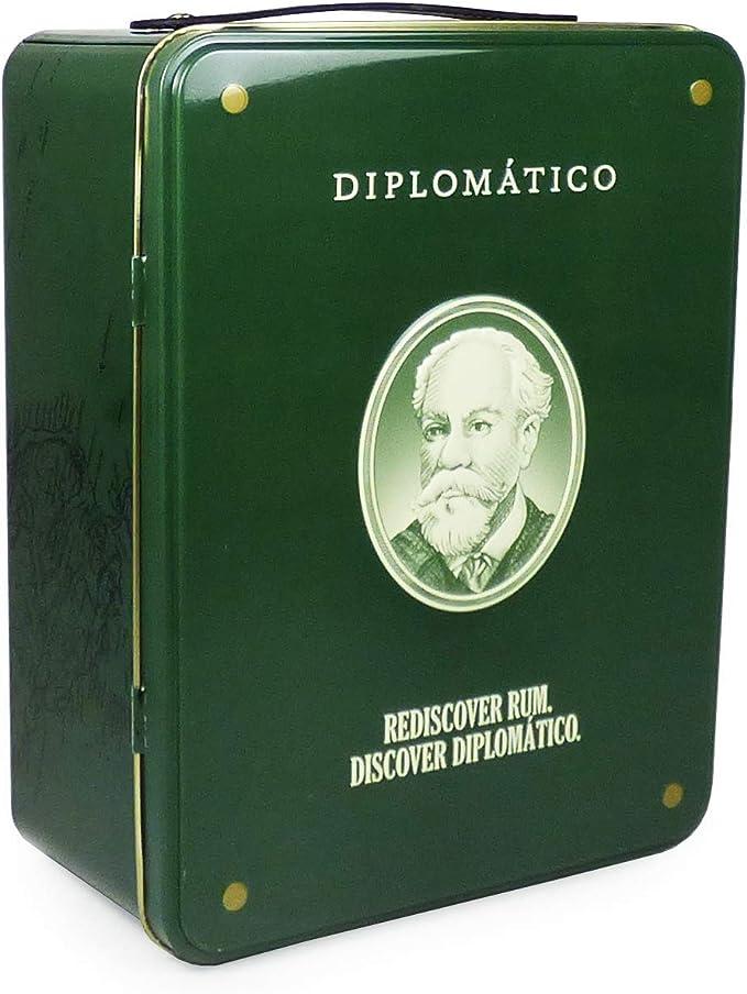 Set de regalo de 70 maletas Diplomatico Reserva Exclusiva Ron - Ideal para Navidad, corporativo, comercial, cumpleaños, aniversario, regalos ...