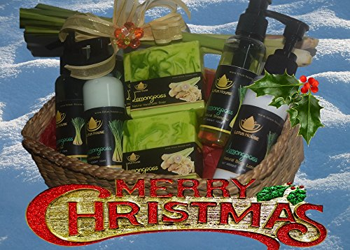 Christmas Gift Basket (Jasmine & Rice) - 66 Fragrances to...