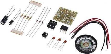 Perfect Doorbell Suite Electronic Production Door Bell Chip Suite DIY NE555
