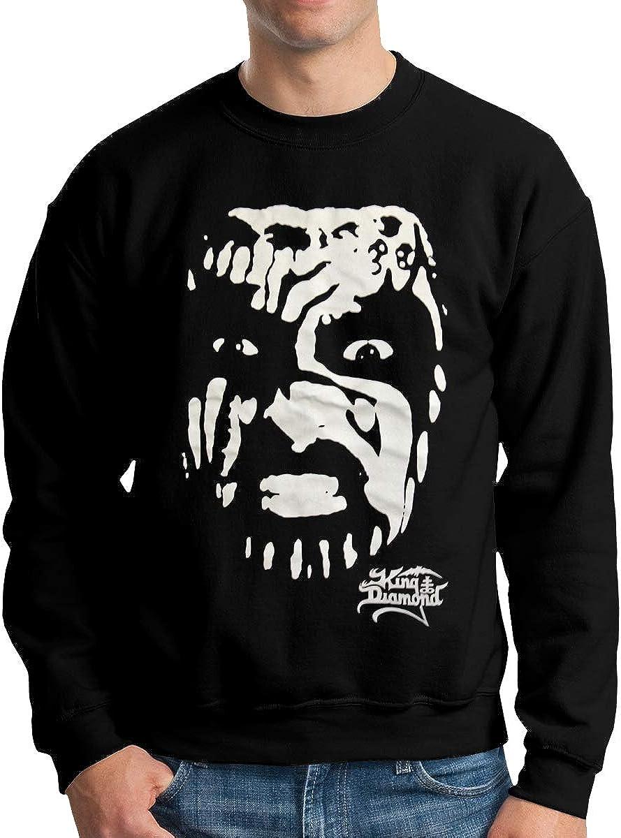 King Diamond Mens Crew Neck Hoodie Crew Neck Sweatshirt Winter Hoodie Long Sleeve