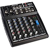Talent MIX-06 6-Channel Mini Stereo Mixer