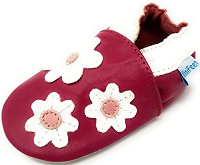 soft peather baby shoes nursery shoe suede sole pram shoes