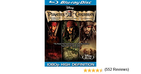 Pirates of the Caribbean: Trilogy [USA] [Blu-ray]: Amazon.es ...