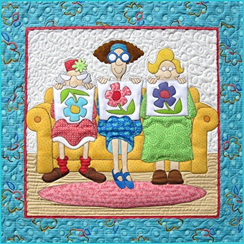1 Little 2 Little 3 Little Quilters Wall Hanging Applique Pa