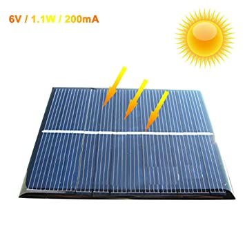 Zimo 5v 6v Mini Solar Panel Ladegerat Solarmodul Diy Batterie