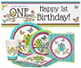 Owl 1st Birthday Party Package for 16 Guests