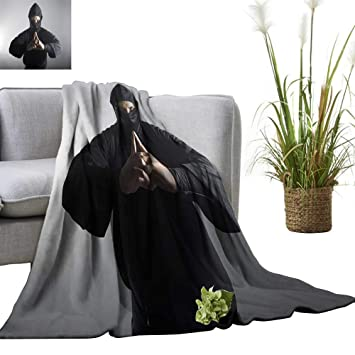 Amazon.com: YOYI Digital Printing Blanket A Real Ninja Shot ...