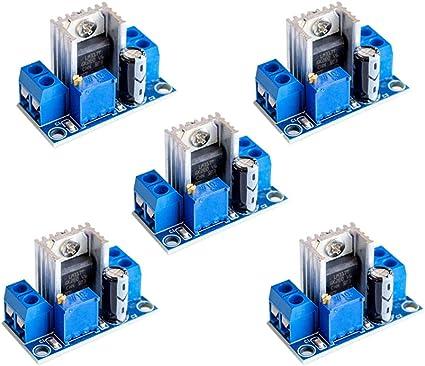 5 35V Lm317 AC//DC Input DC Output Converter Power Supply Module Adjustable Linear Regulator